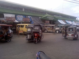 Santa Cruz, Laguna - Santa Cruz Public Market viewed from Regidor Street near Santisima Elementary School