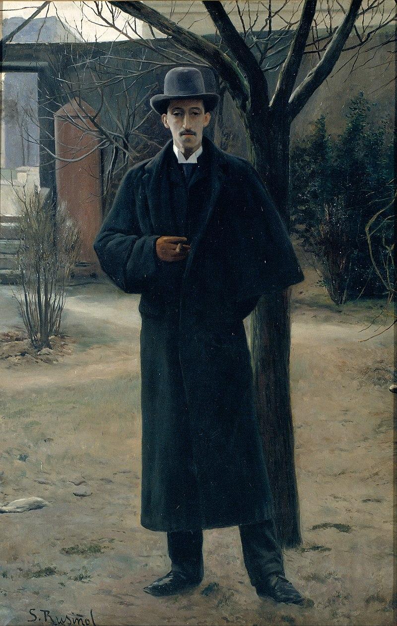 Santiago Rusiñol - Портрет Микеля Утрильо - Google Art Project (548434).jpg