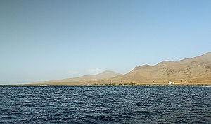 São Nicolau, Cape Verde - Coast of the island of São Nicolau