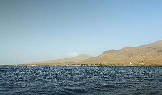 Ponta do Barril village in Cape Verde