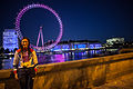 Sarah Storey at the London Eye with her four Paralympics cycling gold medals! - 120918-1504-jikatu (8004732927).jpg