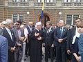 Sarajevans in funeral of 136 Srebrenica genocide victims July 2015 090720151578.jpg