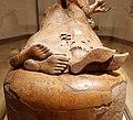 Sarcofago degli sposi, produzione etrusca di influenza ionica, 530-520 ac ca., dalla banditaccia 12 piedi.jpg