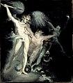 Satan and Death with Sin Intervening John Henry Fuseli (Johann Heinrich Fussli) (Switzerland, Zurich, active England, 1741-1825) Switzerland, 1799-1800.jpg