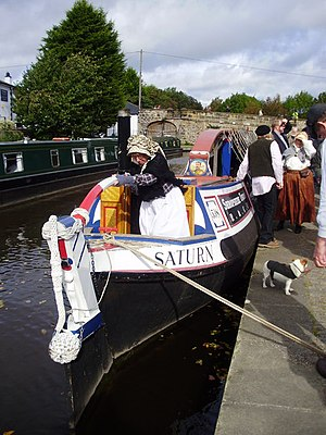 Flyboat - Saturn, a restored 1906 fly-boat