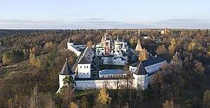 Savvino-Storozhevsky Monastery - A bird's-eye view