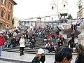 Scalinata della Trinità dei Monti Rome Italy 20091112 135614.jpg