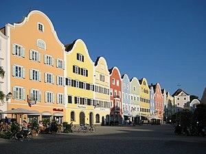 Schärding - Image: Schaerding Stadtplatz