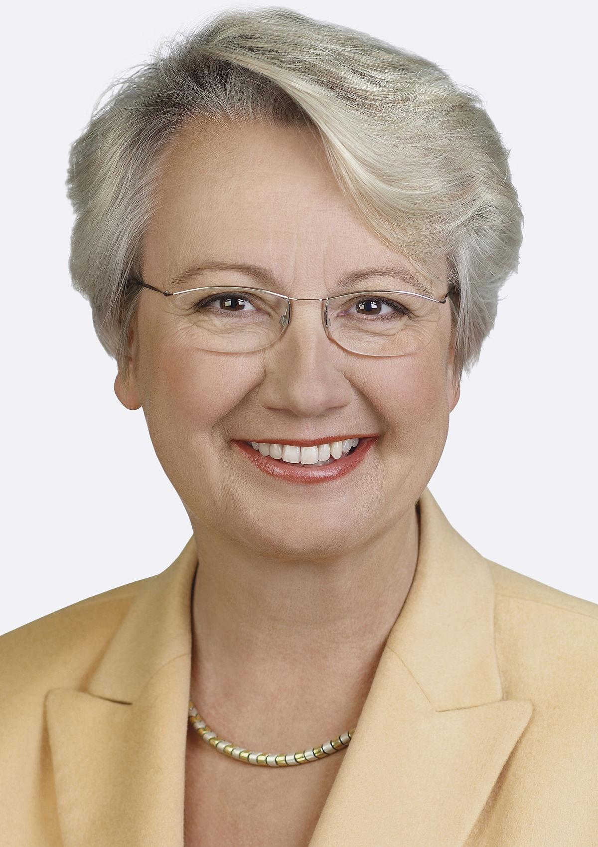 Annette Schavan – Wolna Encyklopedia