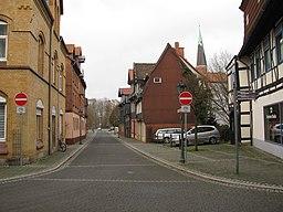 Schloßstraße in Peine