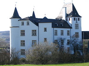 Perl, Saarland - The Schloss Berg at Nennig