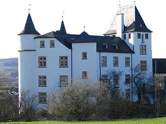 Nennig - Image: Schloss berg nennig nord