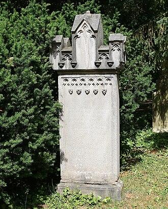 Friedrich Christoph Schlosser - The grave in Heidelberg