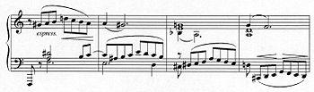 Schumann KlavierkonzertTakte 402–405 (Quelle: Wikimedia)