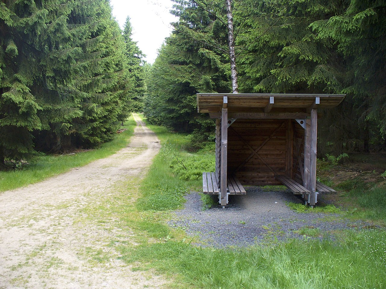 Photo of lean-to