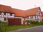 Schweinberg (municipality Hardheim) timberd house.JPG