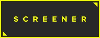 Screener (website) - Image: Screener TV logo