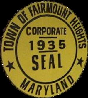 Fairmount Heights, Maryland - Image: Seal of Fairmount Heights, Maryland
