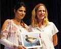 Second place winning art entry with artist Rebekah Knight (29824449686).jpg