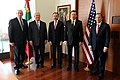 Secretaries Tillerson and Kelly Pose for a Photo With Mexican Secretaries Videgaray, Osorio, and Meade in Mexico City (32949673161).jpg