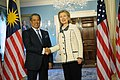 Secretary Clinton Shakes Hands With Malaysian Deputy Prime Minister and Education Minister Tan Sri Dato' Haji Muhyiddin Bin Mohd. Yassin (5357370820).jpg