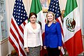 Secretary Clinton and Mexican Foreign Relations Secretary Espinosa Pose for a Photo (8001542073).jpg