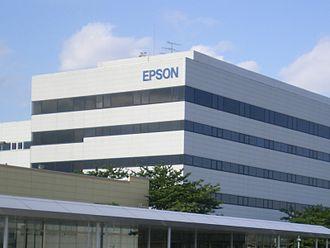 Seiko Epson - Seiko Epson corporate building in Tokyo