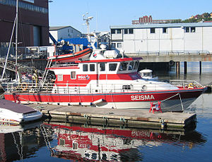 Geological Survey of Norway - The NGU research vessel Seisma