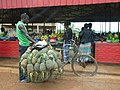 Sellers and buyers at the village cooperative.Ntunga,Rwanda.jpg