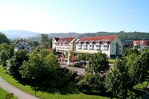 Deutsch: Außenansicht Seminaris Hotel Bad Boll