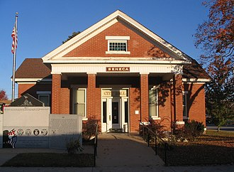 Seneca, Missouri - Image: Seneca MO City Hall