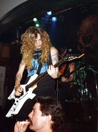 Sepultura - Singer and guitarist Max Cavalera formed Sepultura, along with his brother Igor, in 1984, and stayed with the band until 1996.