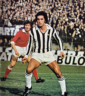 Claudio Gentile - Gentile playing for Juventus in 1975