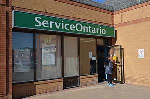 ServiceOntario - ServiceOntario in Markham