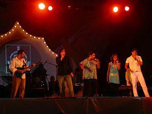 Shankar–Ehsaan–Loy - Shankar Ehsaan Loy performing at IFFI 2006