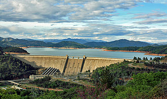 Shasta Dam - Shasta Dam in April 2009