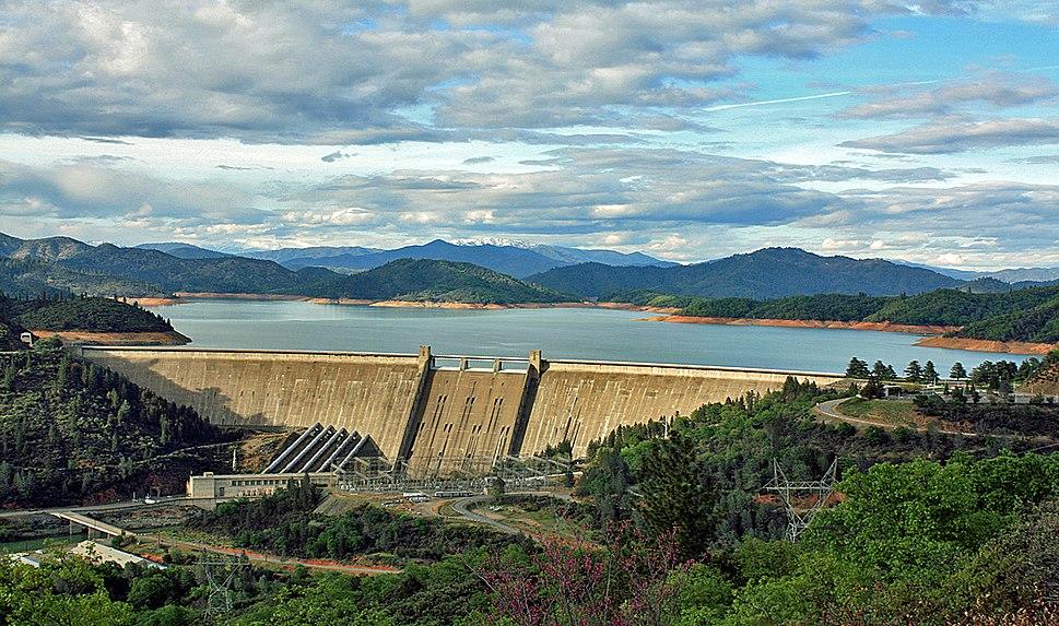 Shasta Dam Colored