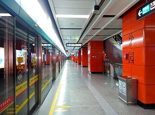 Shayuan station Guangzhou Metro interchange station