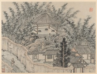 Twelve Views of Tiger Hill, Suzhou: Bamboo Pavilion, Tiger Hill