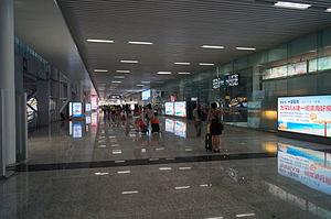 Shenzhen North Railway Station - Exit Passage
