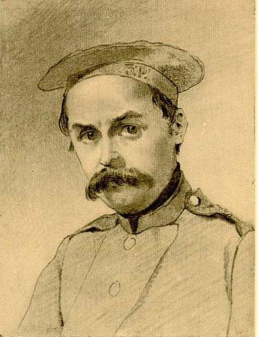 «В солдатах». Автопортрет 1847 года