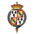 Shield of arms of Charles Canning, 1st Earl Canning, KG, GCB, KSI, PC.png