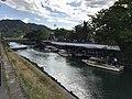 Shizukigawa River near Shizukibashi Bridge.jpg