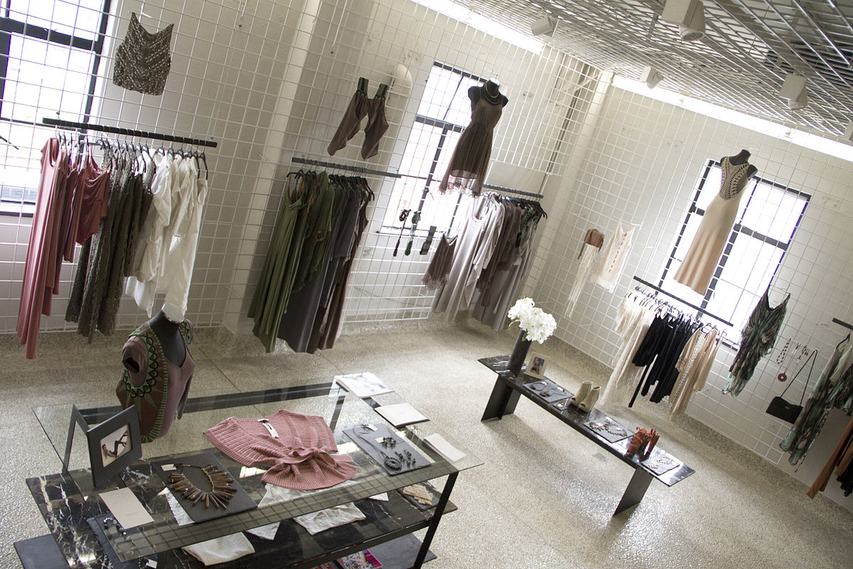 Apparel Showroom Interior Design