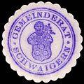 Siegelmarke Gemeinderat - Schwaigern W0229308.jpg