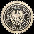 Siegelmarke Königlich - Preussisches Katasteramt Segeberg W0210558.jpg