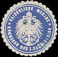 Siegelmarke K. Marine Kommando der I. Baudivision W0357396.jpg