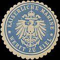 Siegelmarke K. Marine Werft zu Kiel W0391474.jpg