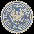 Siegelmarke Kl. Pr. Landrath des Kreises St. Goarshausen W0391572.jpg