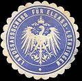 Siegelmarke Landesausschuss für Elsass - Lothringen W0234858.jpg